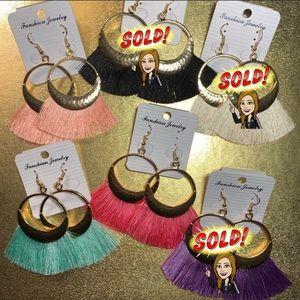 Jewelry - BoHo Tassel Dangle Earrings